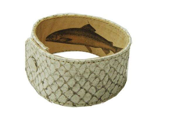 Armband Lachs natur