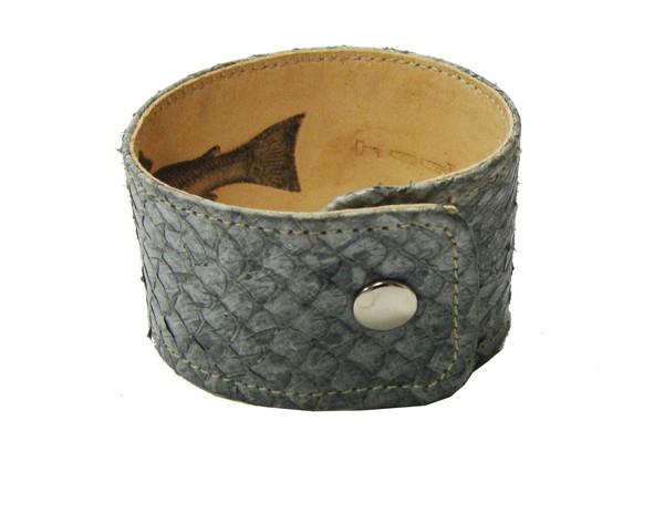 Armband Lachs grau