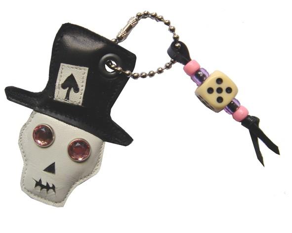 Schlüsselanhängr Totenkopf