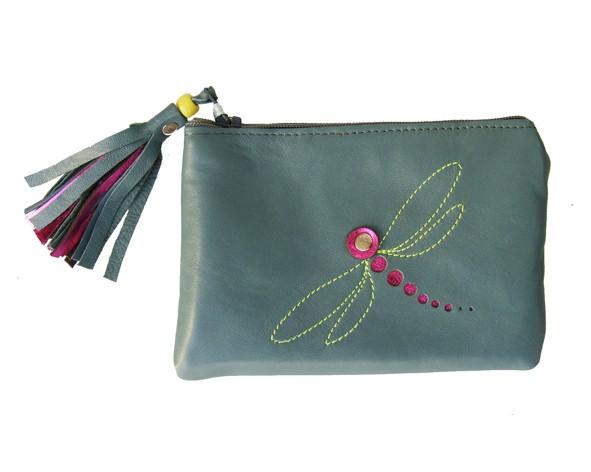 Geldtäschchen mit Libelle